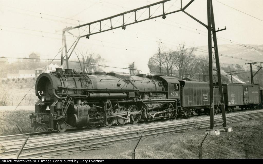 BM 2-8-4 #4006 - Boston & Maine