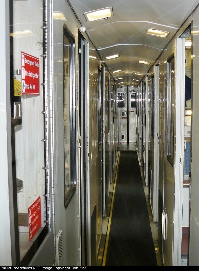 Viewliner sleeper corridor