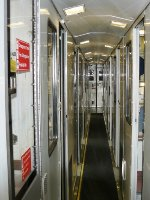 Viewliner sleeper corridor