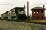NS C39-8 8653--unknown EB--Leipsic, OH December 1997