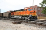 BNSF 5795 DPU on an empty Scherer coal train.
