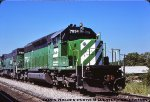 Just Another BN SD40-2...Two Month old BN 7934