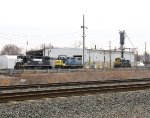 NS 5223; CSX 2735 and 1123