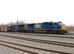 CSX 8730 and 4802