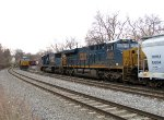 CSX 3145 and 8747