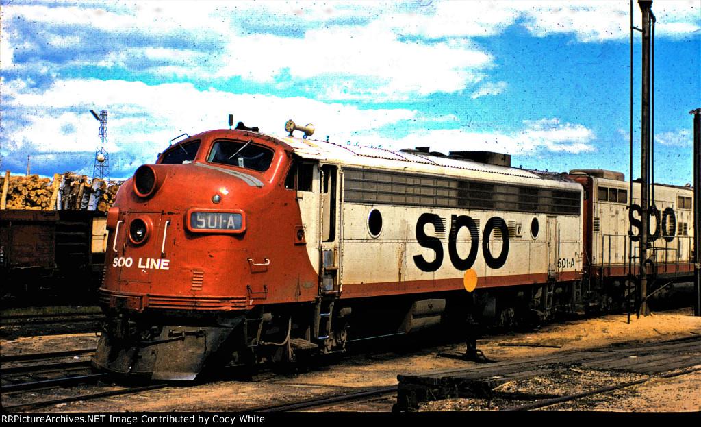 Soo Line FP7-A 501-A