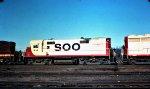 Soo Line RS27 416