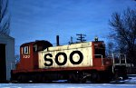 Soo Line SW-1 320