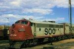 Soo Line FP7A 501-A