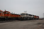 BNSF 1235, 1230, 9624, 9688, 1272, and 2655