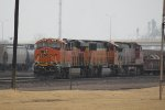 BNSF 8275, 8883, and 699