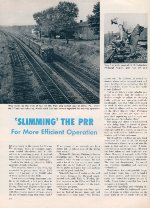 """'Slimming' The PRR,"" Page 10, 1958"