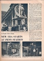 """New Era at Penn Station,"" Page 5, 1964."