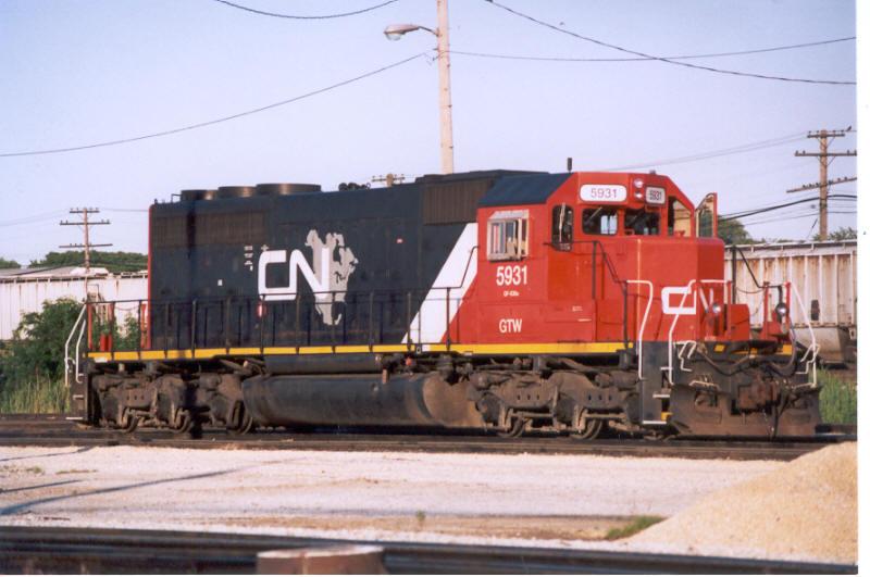 CN 5931 (ex-GTW, nee-UP)