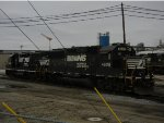 NS 4609 & 5045 Sit Idle