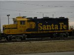 Santa Fe 3069 sitting Idle along side Rt48