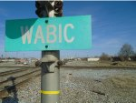 WABIC Sign Looking East across Diamonds