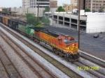 BNSF 5403 leads CSX train Q520