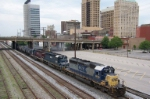 CSX 8116 leads an all EMD lash up