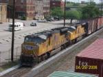 UP 5219 leads CSX train Q685