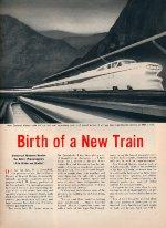 """Birth Of A New Train,"" Page 5, 1955"