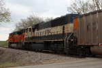 BNSF 9704 and 8573