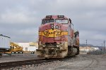 BNSF 910 Sits in the storage line at Murray yard.