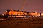 BNSF 6103 Waits for a signal at Santa Fe jct.