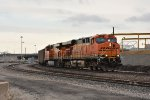 BNSF 5884 Slow's for Bn Junction.