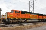 BNSF 252 roster