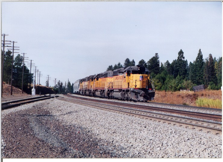 EB grain train