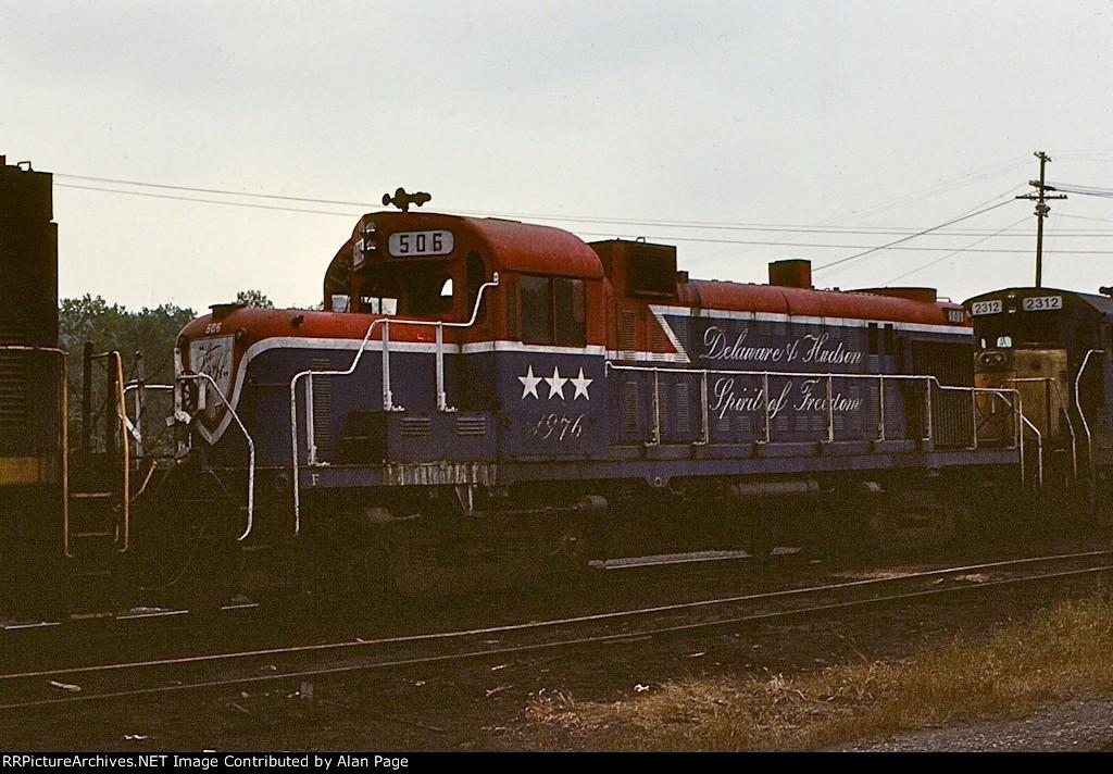 D&H Bicentennial RS3M 506