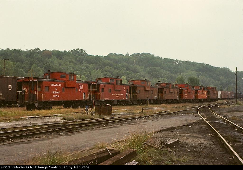 D&H cabooses