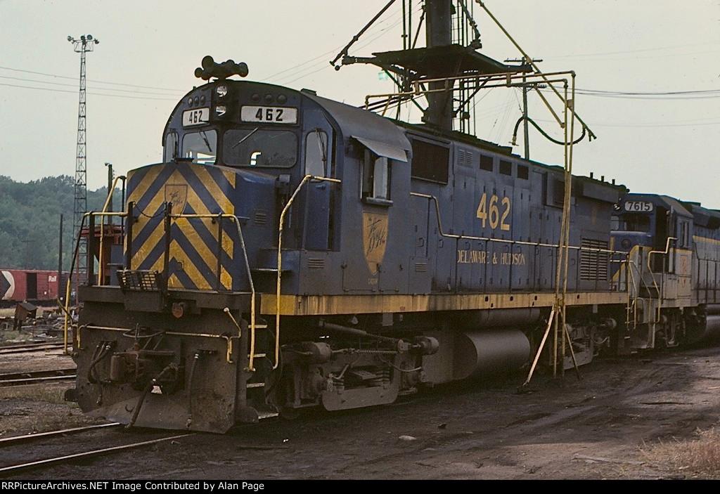 D&H C424 462
