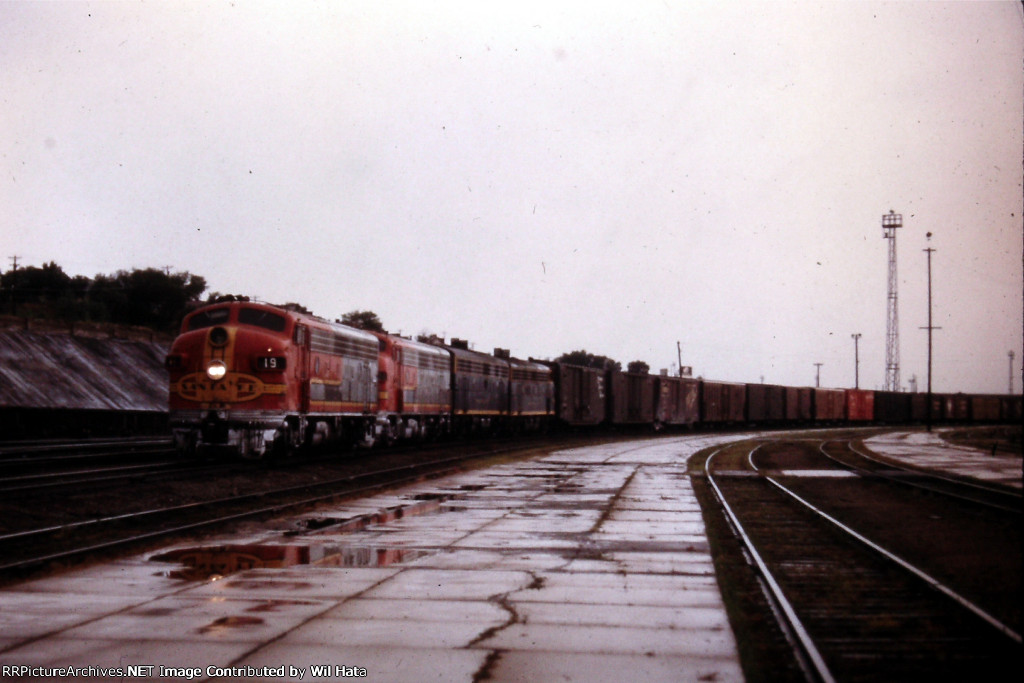 Wagons In The Rain