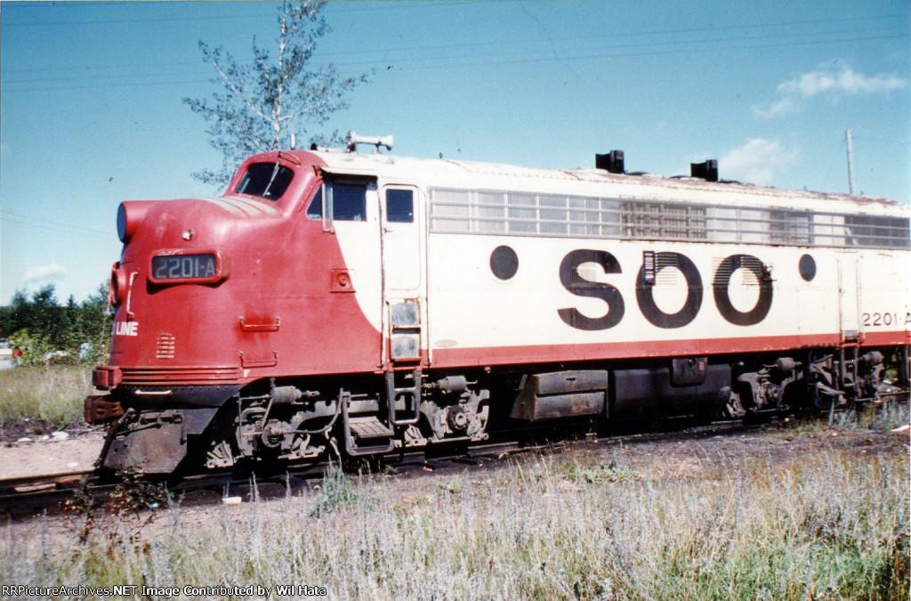 Soo Line F7A 2201A