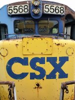 CSX 5568 in the Dead Line