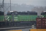 BNSF 3006 at the kcs knoche yard