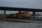 BNSF 6094 with a empty KCP&L coal