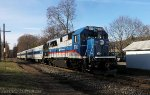 Metro-North Blues at Dover Plains