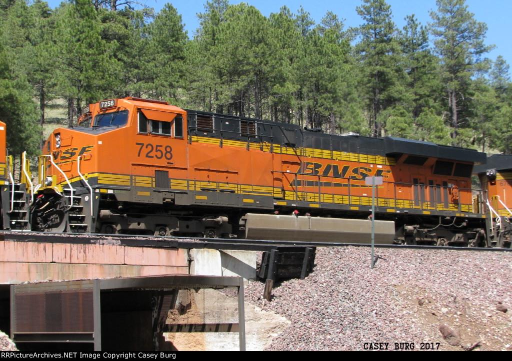 BNSF 7258
