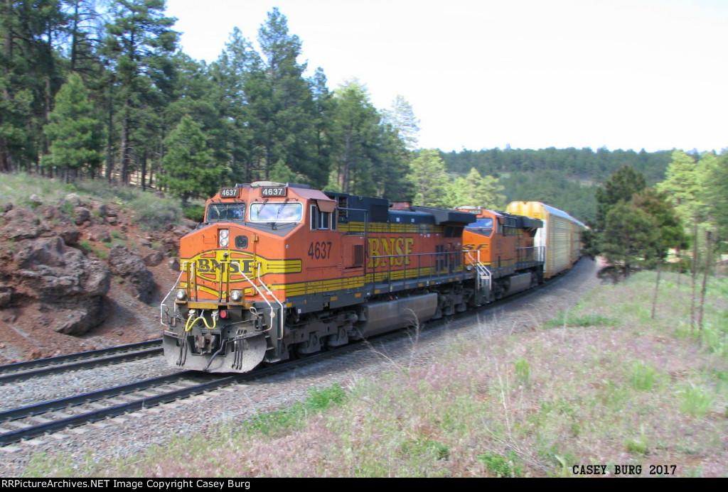 BNSF 4637