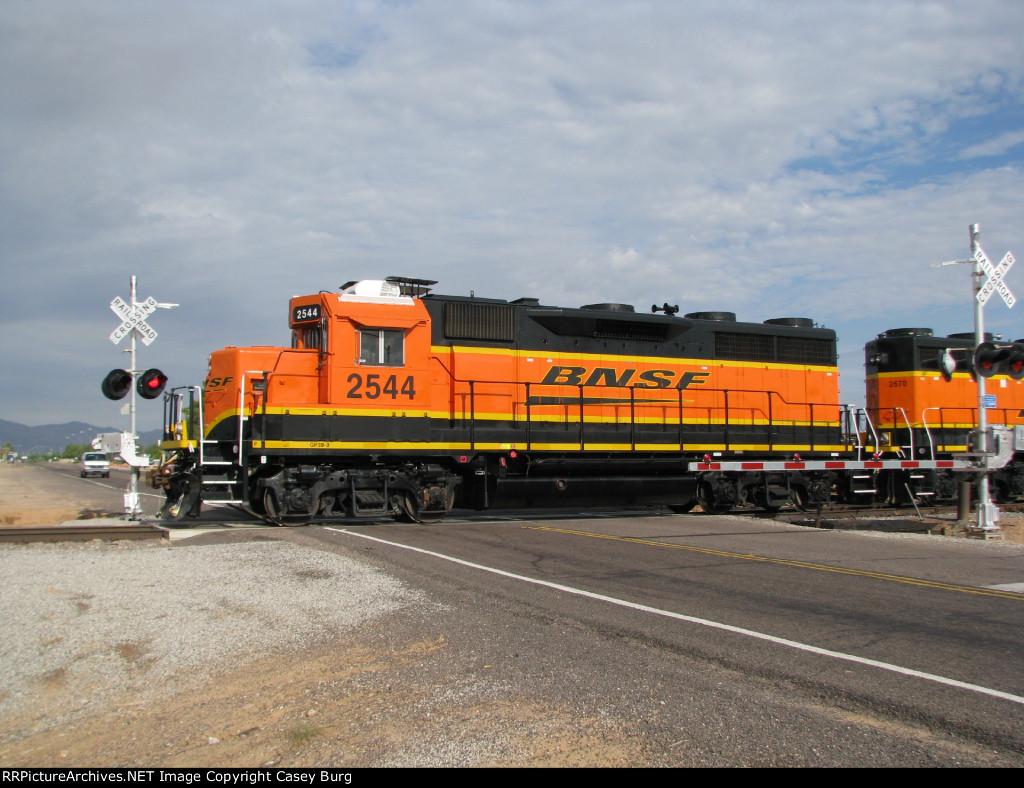 BNSF 2544