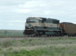 BNSF 9685 SD70MAC on distributive power (DP) assignment