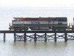 BC Rail 4611 in Swanton VT