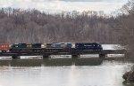Hoosick River bridge at Fisherman' Lane, Schaighticoke, NY
