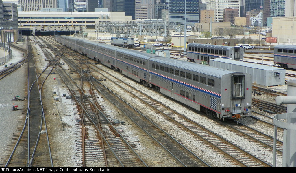 Texas Eagle Arriving Chicago Union Station