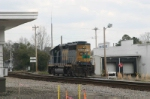 CSX 6058 Did Not Knock Over The Stop Sign