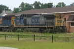 CSX 7895 Parked