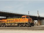 BNSF 7941 Pulling A Mixed Freight At Santa fe Junction